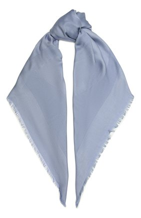 Женский шарф GIORGIO ARMANI голубого цвета, арт. 795312/1A134 | Фото 1