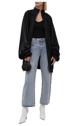 Женская куртка BALENCIAGA черного цвета, арт. 659071/TJV20 | Фото 2