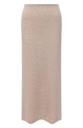 Женская кашемировая юбка TOTÊME кремвого цвета, арт. 213-346-764 | Фото 1
