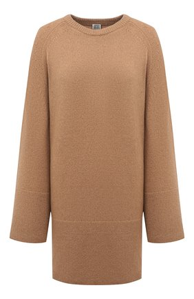 Женский шерстяной свитер TOTÊME бежевого цвета, арт. 213-564-756 | Фото 1