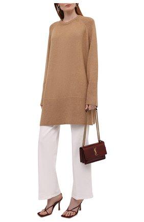 Женский шерстяной свитер TOTÊME бежевого цвета, арт. 213-564-756 | Фото 2