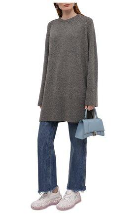 Женский шерстяной свитер TOTÊME серого цвета, арт. 213-564-756 | Фото 2
