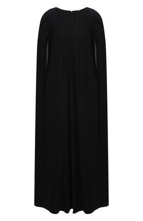 Женское платье из вискозы TOTÊME черного цвета, арт. 213-641-778 | Фото 1