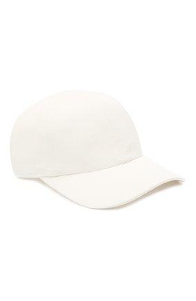 Женская бейсболка TOTÊME белого цвета, арт. 213-876-724 | Фото 1