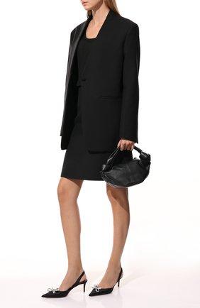 Женский пуловер из вискозы TOTÊME черного цвета, арт. 213-568-761 | Фото 2