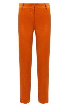 Женские вельветовые брюки LORO PIANA оранжевого цвета, арт. FAL9505   Фото 1