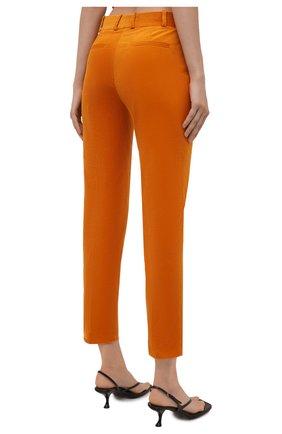 Женские вельветовые брюки LORO PIANA оранжевого цвета, арт. FAL9505   Фото 4