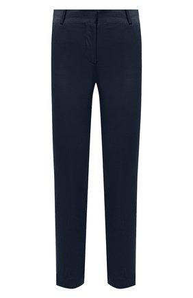 Женские вельветовые брюки LORO PIANA темно-синего цвета, арт. FAL9505   Фото 1