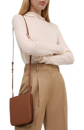 Женская сумка my way mini LORO PIANA коричневого цвета, арт. FAL8162   Фото 2