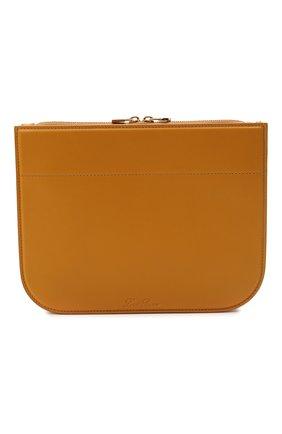 Женская сумка my way small LORO PIANA горчичного цвета, арт. FAL8160   Фото 1 (Материал: Натуральная кожа; Сумки-технические: Сумки через плечо; Ремень/цепочка: На ремешке; Размер: small)