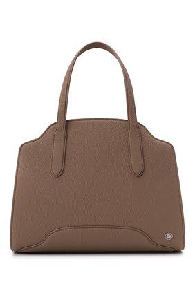Женская сумка sesia medium LORO PIANA темно-бежевого цвета, арт. FAL6761   Фото 1