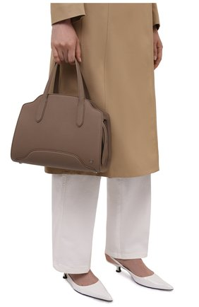 Женская сумка sesia medium LORO PIANA темно-бежевого цвета, арт. FAL6761   Фото 2