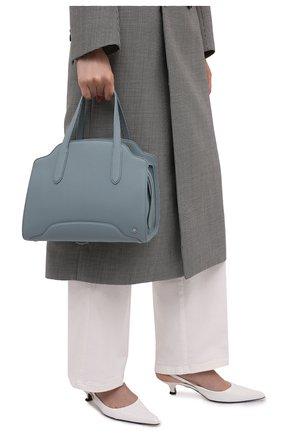 Женская сумка sesia medium LORO PIANA серо-голубого цвета, арт. FAL6761 | Фото 2