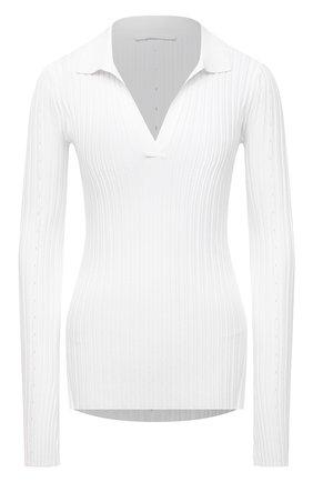 Женский пуловер из вискозы HELMUT LANG белого цвета, арт. L04HW712 | Фото 1