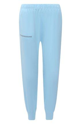 Женские хлопковые джоггеры PANGAIA голубого цвета, арт. JBF0009-011-JM001 | Фото 1