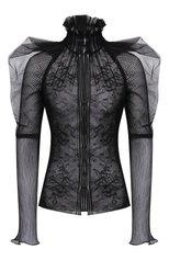 Женская блузка TOM FORD черного цвета, арт. TS1977-FAX343   Фото 1