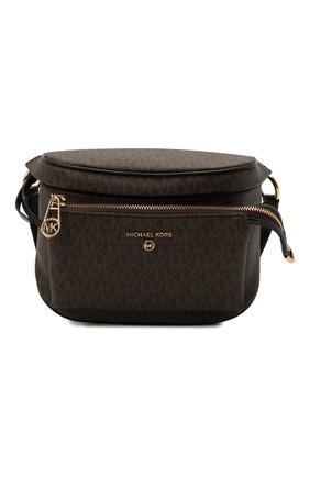 Женская сумка slater medium MICHAEL MICHAEL KORS темно-коричневого цвета, арт. 30T0G04M6B | Фото 1