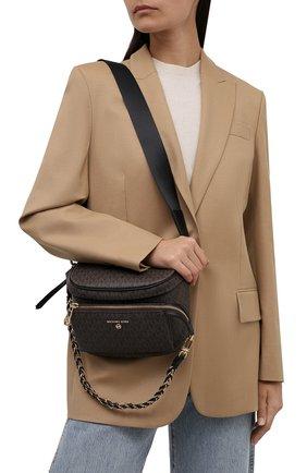 Женская сумка slater medium MICHAEL MICHAEL KORS темно-коричневого цвета, арт. 30T0G04M6B | Фото 2