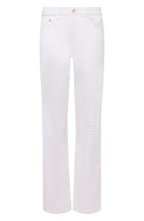 Женские джинсы MICHAEL MICHAEL KORS белого цвета, арт. MU1900XV20 | Фото 1