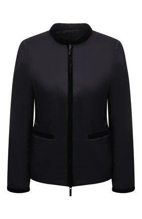 Женская утепленная куртка EMPORIO ARMANI черного цвета, арт. 8N2B01/2NKBZ   Фото 1