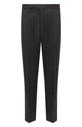 Женские брюки из шерсти и кашемира POLO RALPH LAUREN серого цвета, арт. 211814979 | Фото 1