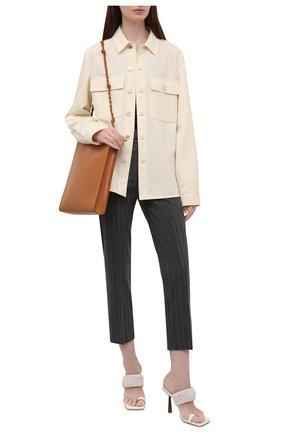 Женские брюки из шерсти и кашемира POLO RALPH LAUREN серого цвета, арт. 211814979 | Фото 2