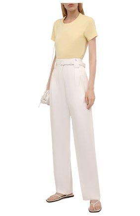 Женская хлопковая футболка MONCLER  цвета, арт. G2-093-8C000-23-829ET   Фото 2