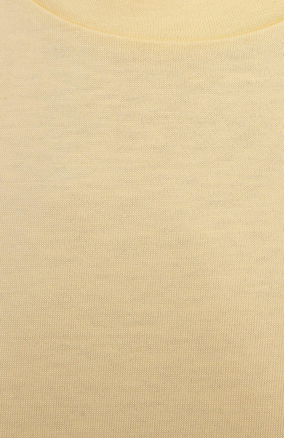 Женская хлопковая футболка MONCLER  цвета, арт. G2-093-8C000-23-829ET   Фото 5
