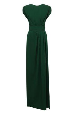 Женское платье из вискозы DOLCE & GABBANA темно-зеленого цвета, арт. F6K3TT/FUIAH   Фото 1