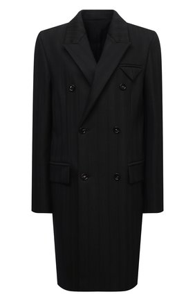Женское пальто BOTTEGA VENETA темно-зеленого цвета, арт. 668802/V1200 | Фото 1