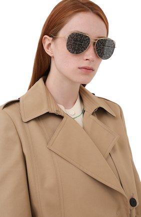 Женские солнцезащитные очки DOLCE & GABBANA леопардового цвета, арт. 2261-02/P   Фото 2