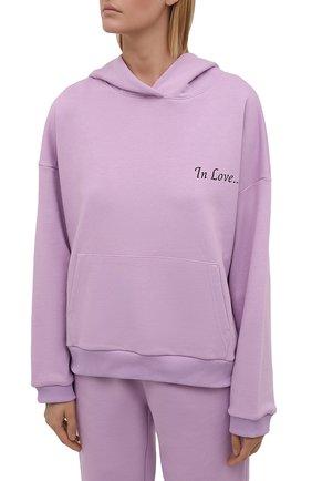 Женский хлопковый костюм SEVEN LAB сиреневого цвета, арт. HP20-IL lavender   Фото 2