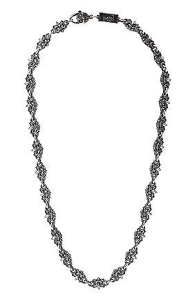 Женское цепь флер де лис GL JEWELRY серебряного цвета, арт. M600004-S97-01 | Фото 1