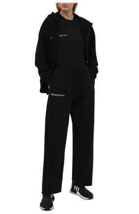 Женские текстильные кроссовки marimekko nmd r1w ADIDAS ORIGINALS черно-белого цвета, арт. H00655 | Фото 2