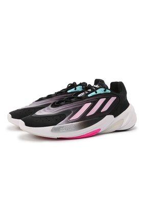 Женские комбинированные кроссовки ozelia ADIDAS ORIGINALS черного цвета, арт. H04266 | Фото 1