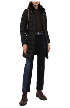 Женский пуховик MOORER черного цвета, арт. VETIVER-S3/M0DGI300005-TEPA028 | Фото 2