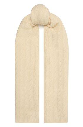 Женский кашемировый шарф TOTÊME белого цвета, арт. 212-875-751 | Фото 1