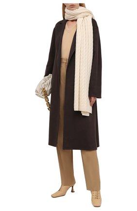 Женский кашемировый шарф TOTÊME белого цвета, арт. 212-875-751 | Фото 2