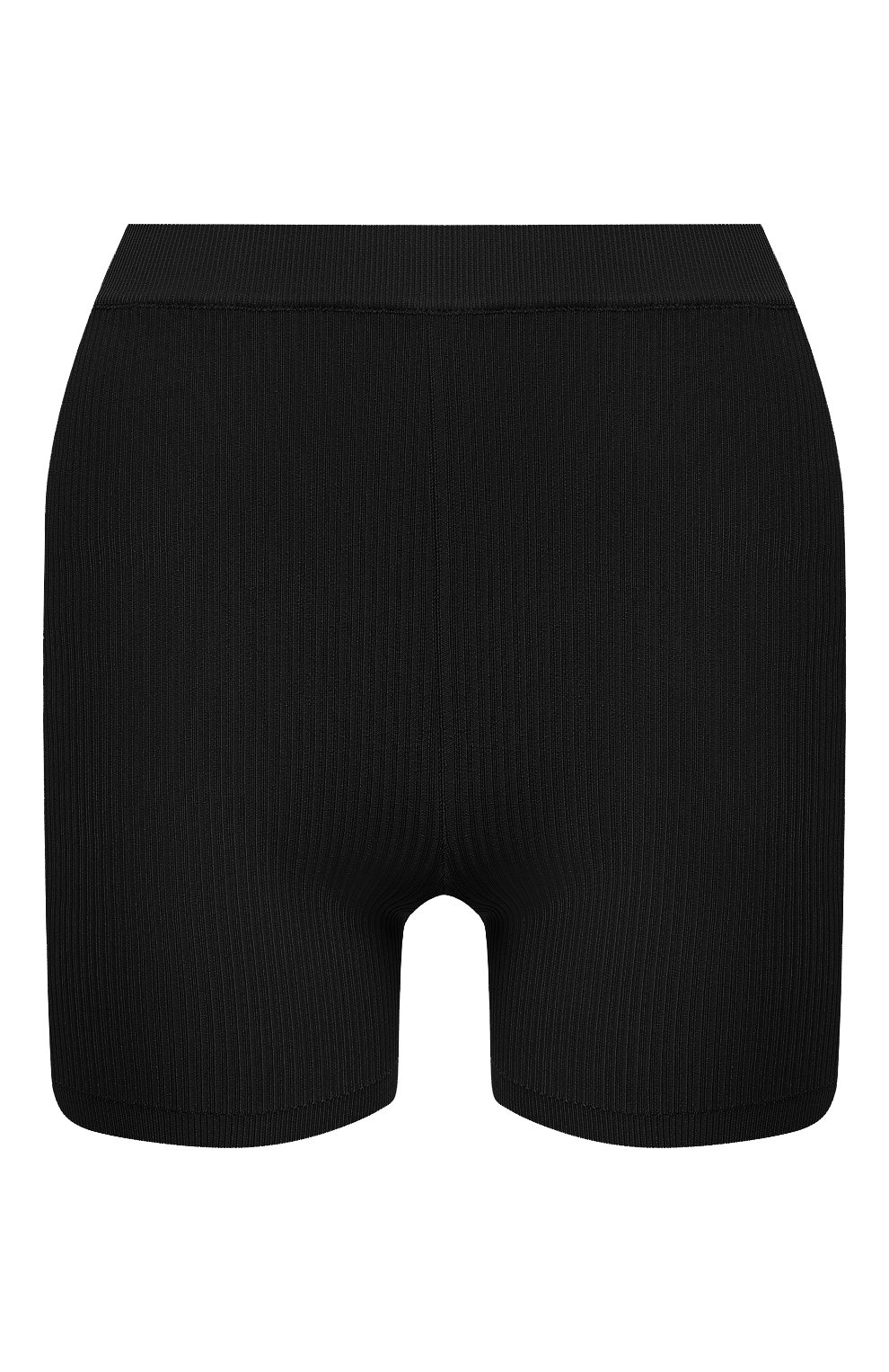 Женские шорты из вискозы SAINT LAURENT черного цвета, арт. 660275/Y75BE | Фото 1