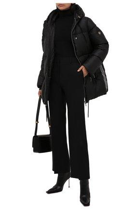Женский пуховик MICHAEL MICHAEL KORS черного цвета, арт. MU12028G1M | Фото 2