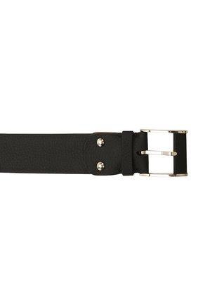 Мужской кожаный ремень ZILLI черного цвета, арт. MJL-CLAQE-01947/0232/120-130 | Фото 4 (Случай: Формальный)