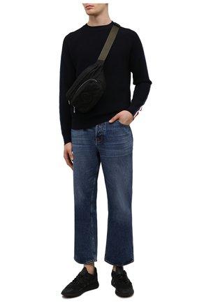 Мужские кроссовки zx 1k boost ADIDAS ORIGINALS черного цвета, арт. H68721   Фото 2