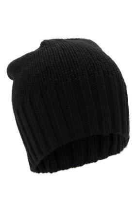 Мужская кашемировая шапка INVERNI черного цвета, арт. 4226 CM   Фото 1