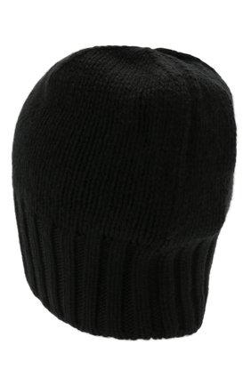 Мужская кашемировая шапка INVERNI черного цвета, арт. 4226 CM   Фото 2