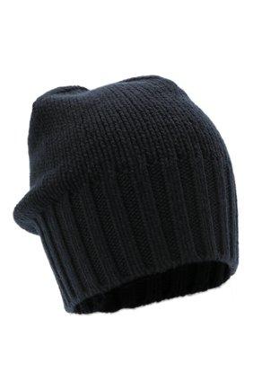 Мужская кашемировая шапка INVERNI темно-синего цвета, арт. 4226 CM | Фото 1