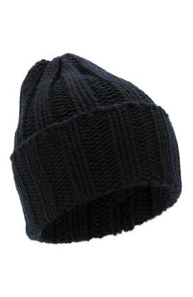 Мужская кашемировая шапка INVERNI темно-синего цвета, арт. 1128 CM | Фото 1