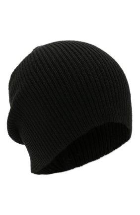 Мужская кашемировая шапка INVERNI черного цвета, арт. 0122 CM   Фото 1