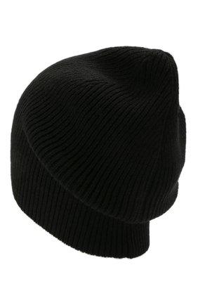 Мужская кашемировая шапка INVERNI черного цвета, арт. 0122 CM   Фото 2