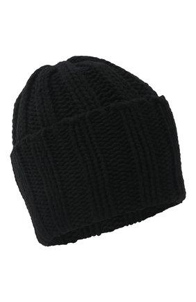 Мужская кашемировая шапка INVERNI черного цвета, арт. 1128 CM   Фото 1