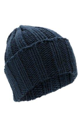 Мужская кашемировая шапка INVERNI синего цвета, арт. 1128 CM | Фото 1